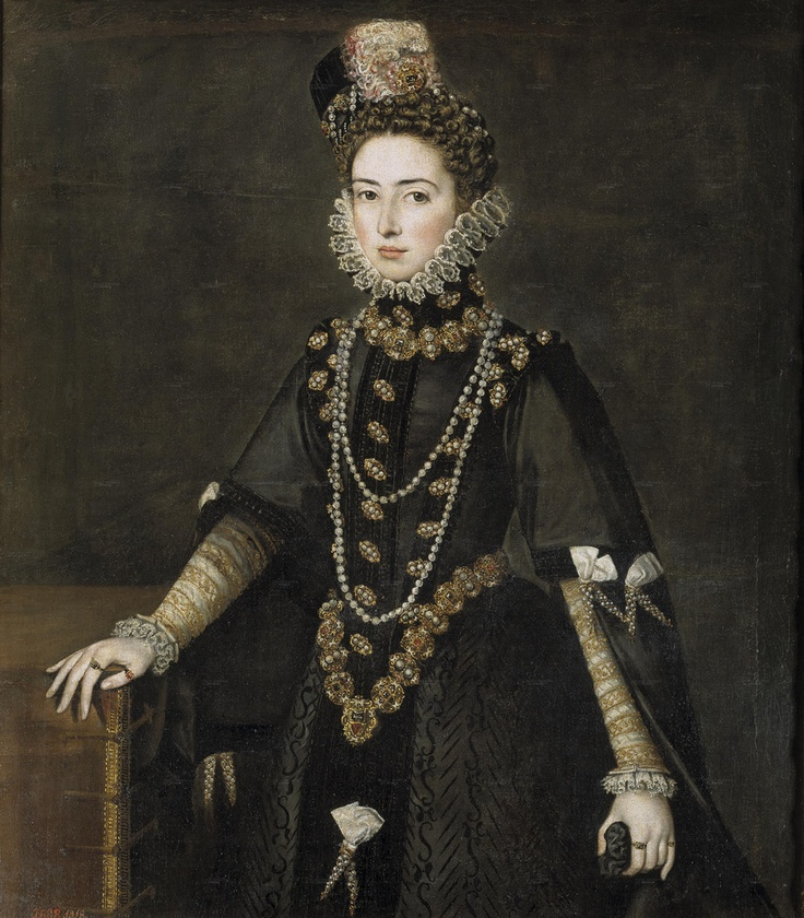 Portrait of Catalina Michaela, Duchess of Savoy (1585)