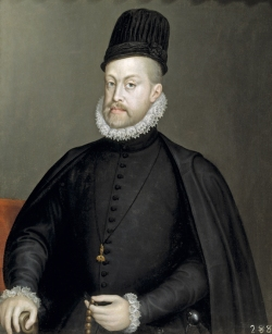 Portrait of Philip II with Rosary (c. 1568) Prado Museum, Madrid
